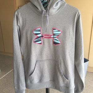 Under Armour hoodie with logo on front